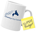 Budget Buster Durham Mugs  by Gopromotional - we get your brand noticed!