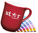 Bell Etched Pantone Matched Colour Coat Mugs by Gopromotional - we get your brand noticed!