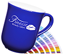 Bell Pantone Matched Mugs  by Gopromotional - we get your brand noticed!