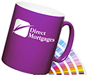 Durham Pantone Matched ColourCoat Mugs  by Gopromotional - we get your brand noticed!