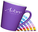 Latte Pantone Matched Mugs  by Gopromotional - we get your brand noticed!