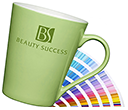 Torino Pantone Matched Porcelain Mugs  by Gopromotional - we get your brand noticed!