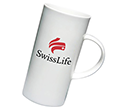 Cylinder China Mugs  by Gopromotional - we get your brand noticed!
