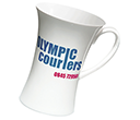 Hourglass China Mugs  by Gopromotional - we get your brand noticed!