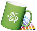 Durham Etched Pantone Matched Mugs  by Gopromotional - we get your brand noticed!