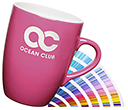 Marrow Etched Pantone Matched Mugs  by Gopromotional - we get your brand noticed!