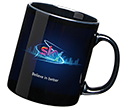 Durham Black Photo Mugs  by Gopromotional - we get your brand noticed!