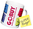 Budget Durham Photo Mugs  by Gopromotional - we get your brand noticed!