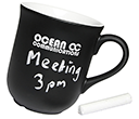 Bell Chalk Mugs  by Gopromotional - we get your brand noticed!