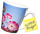 Budget Latte Photo Mugs  by Gopromotional - we get your brand noticed!