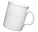 Atlantic Etched Mugs - White  by Gopromotional - we get your brand noticed!