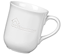 Bell Etched Mugs - White  by Gopromotional - we get your brand noticed!