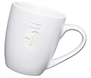 Mini Marrow Etched Mugs - White  by Gopromotional - we get your brand noticed!