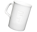 Opal Etched China Mugs  by Gopromotional - we get your brand noticed!
