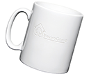 Durham Etched Mugs - White  by Gopromotional - we get your brand noticed!