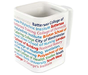 Square Mugs  by Gopromotional - we get your brand noticed!