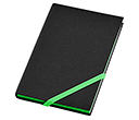 A6 Neon Edge Notebooks  by Gopromotional - we get your brand noticed!
