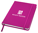 A5 Spectrum Soft Feel Notebooks - Lined Pages  by Gopromotional - we get your brand noticed!