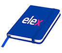 A5 Spectrum Soft Feel Notebooks - Plain Pages  by Gopromotional - we get your brand noticed!
