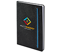 Denim A5 Black Notebooks  by Gopromotional - we get your brand noticed!