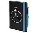 Salsa Colour A5 Notebooks & Absolute Pens  by Gopromotional - we get your brand noticed!