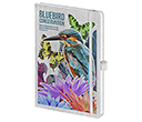 Nature Colour A5 Soft Feel Notebooks  by Gopromotional - we get your brand noticed!