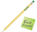 Recycled Lunch Tray Pencils  by Gopromotional - we get your brand noticed!