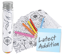 Activity Tube Colouring Sets  by Gopromotional - we get your brand noticed!