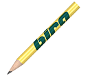 Mini Pencils Without Eraser  by Gopromotional - we get your brand noticed!