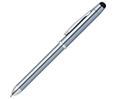 Cross TECH3+ Frosty Steel Multi-Function Pens  by Gopromotional - we get your brand noticed!