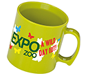 Essential Printed Plastic Mugs  by Gopromotional - we get your brand noticed!