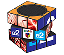 Rubik's Bluetooth Speakers  by Gopromotional - we get your brand noticed!