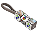 Rubik's Mobile Charging Cable Sets  by Gopromotional - we get your brand noticed!
