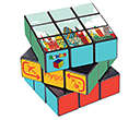 Classic Rubik's Cube  by Gopromotional - we get your brand noticed!
