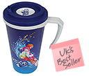 ColourBrite Cubana Cafe Travel Mugs  by Gopromotional - we get your brand noticed!