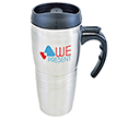 Raphael Stainless Steel Travel Mugs  by Gopromotional - we get your brand noticed!