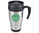 Nevada Promotional Stainless Steel Travel Mugs  by Gopromotional - we get your brand noticed!