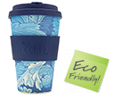 400ml eCoffee Cups - Acanthus  by Gopromotional - we get your brand noticed!