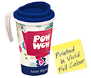 Americano ColourBrite Grande Travel Mugs  by Gopromotional - we get your brand noticed!