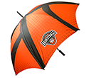 Bedford Black Golf Umbrellas  by Gopromotional - we get your brand noticed!