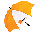 Orion Black Medium Umbrellas  by Gopromotional - we get your brand noticed!
