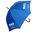Naples Corporate Woodstick Umbrellas  by Gopromotional - we get your brand noticed!