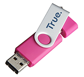 1gb On The Go Twister Micro USB FlashDrive