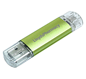 1gb On The Go Aluminium USB FlashDrive - Engraved