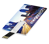 2gb Ultra Thin Credit Card USB FlashDrive - Full Colour